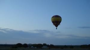 Balloon over the morning