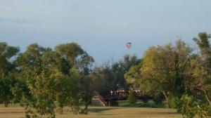 balloon over runners