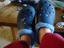 Love the toasty crocs